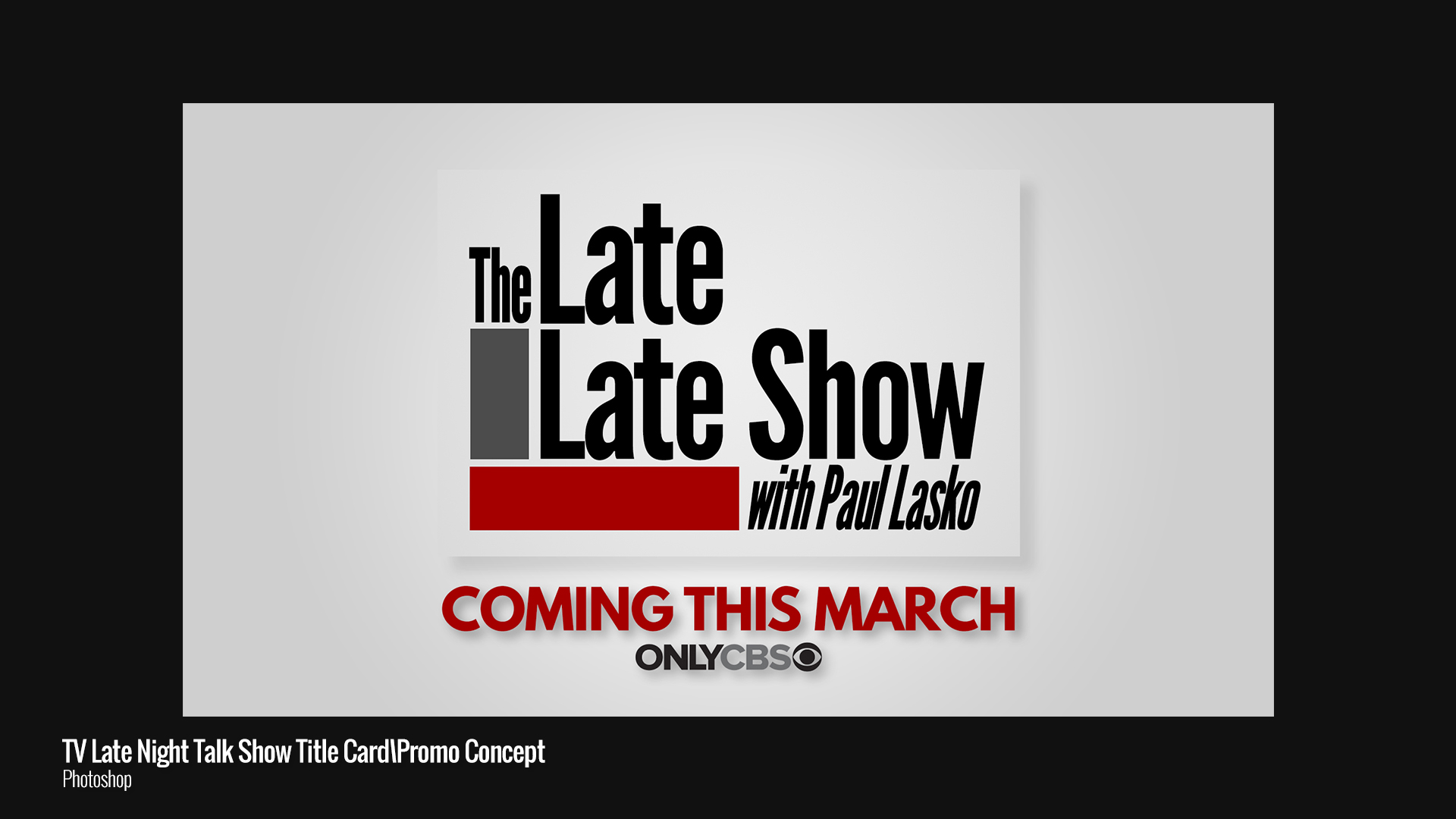 Grey Television Show Promo Concept